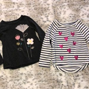 Other - ‼️✨2 for $10✨‼️ Baby Girl 18 Mn Long Sleeve Shirts